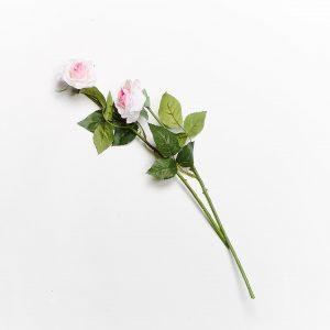 Forever Flowering Real Touch Light Pink Rose Flower Stem