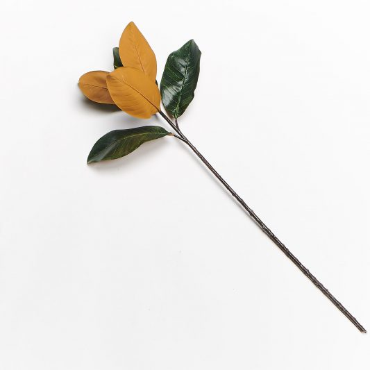 Forever Flowering Real Touch Magnolia Leaf Stem