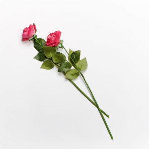 Forever Flowering Real Touch Rose Red Rose Flower Stem