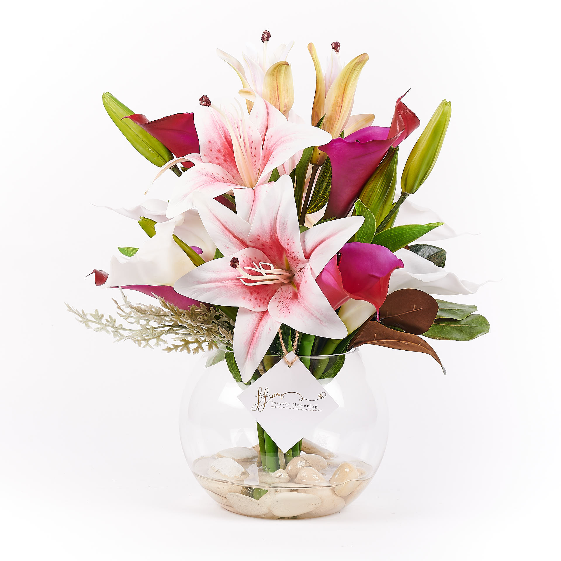Frankie Real Touch Forever Flowering Flower Arrangement 1