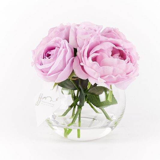 Penelope Real Touch Forever Flowering Flower Arrangement Lilac 2