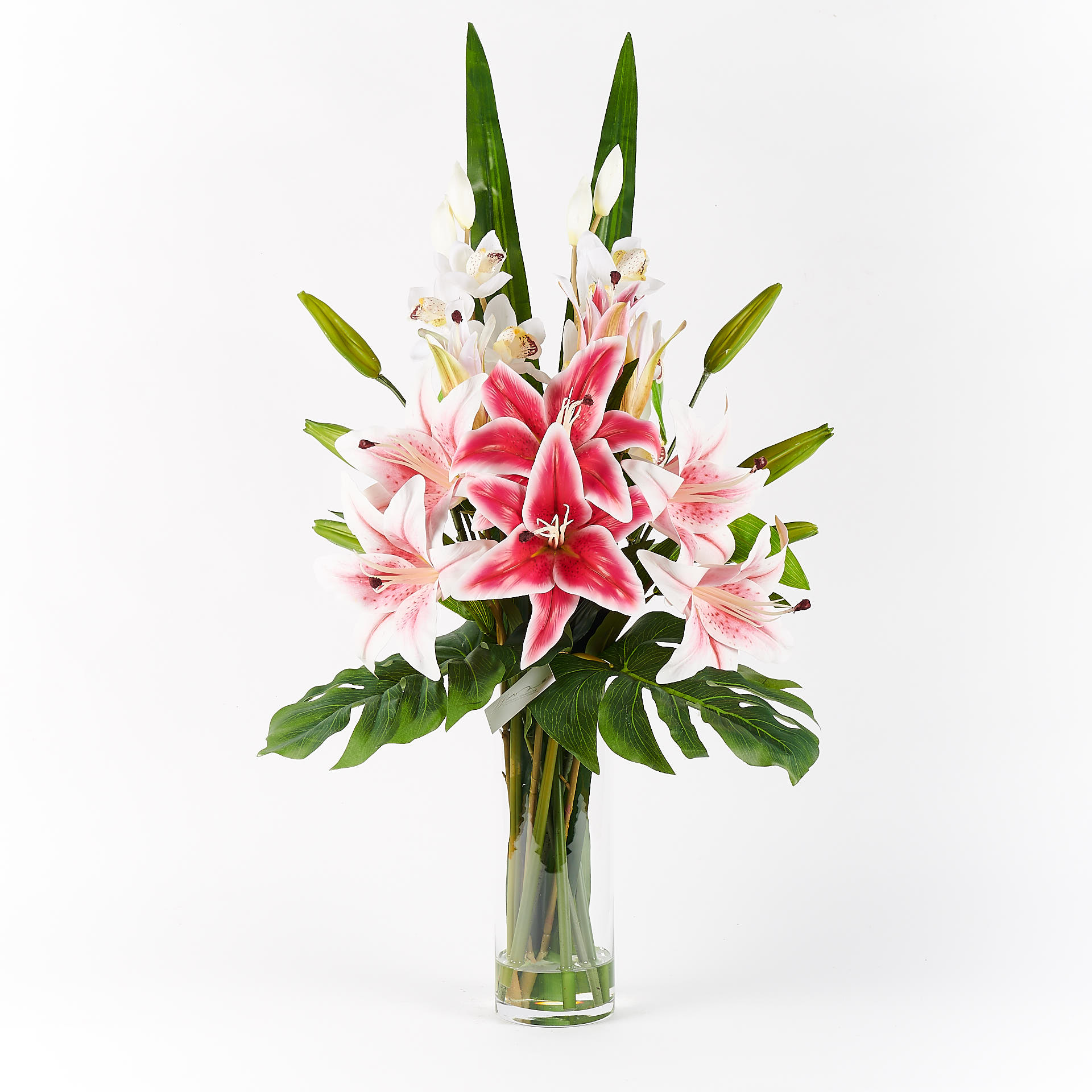 Taylor Real Touch Forever Flowering Flower Arrangement Pink 2