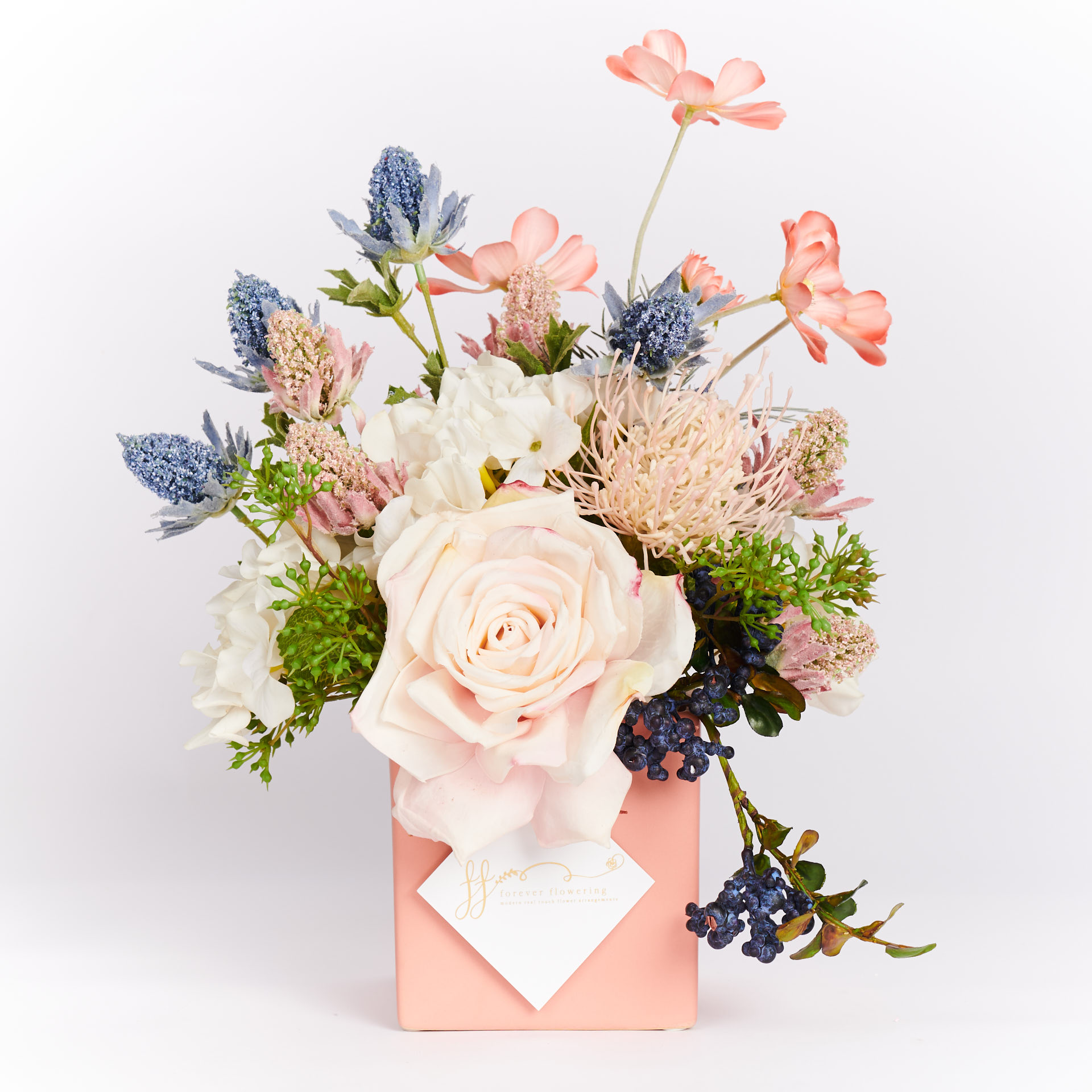 Coco Real Touch Forever Flowering Flower Arrangement 1