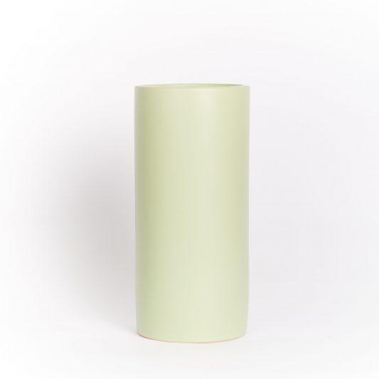 Hannah Forever Flowering Ceramic Vase Mint