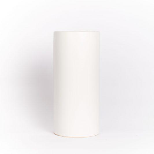 Hannah Forever Flowering Ceramic Vase White